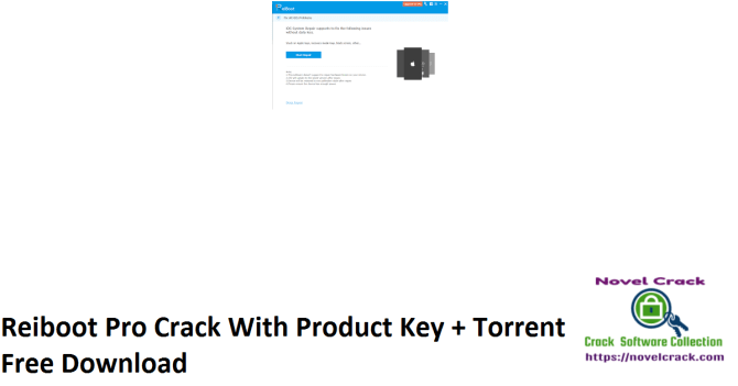 Reiboot Pro Crack With Product Key + Torrent Free Download