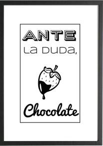 Lamina chocolate marco