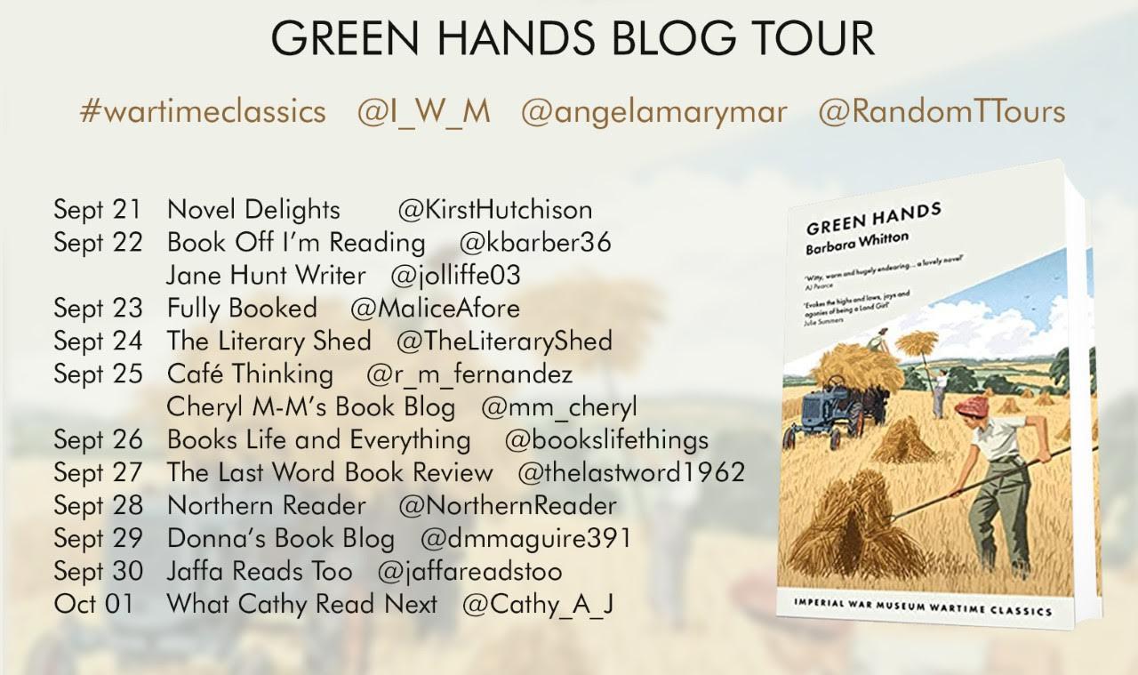Green Hands blog tour poster