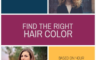 A guide to find the right hair color based on your skin tone