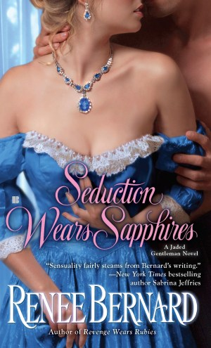 Review – Seduction Wears Sapphires by Renee Bernard