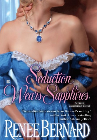 Review – Seduction Wears Sapphires by Renee Bernard