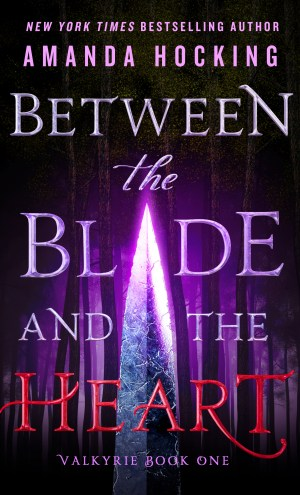 Myth-Inspired Potential & Too Much Detail / Between the Blade and the Heart by Amanda Hocking + #Giveaway