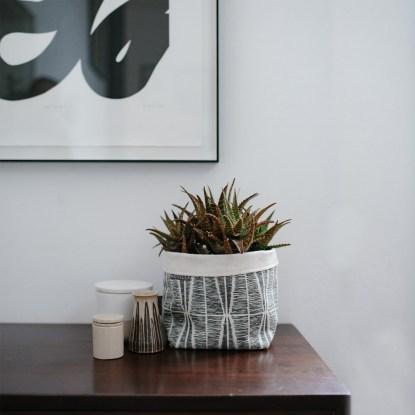 Sylvia Soft Pot | Slate | Styled