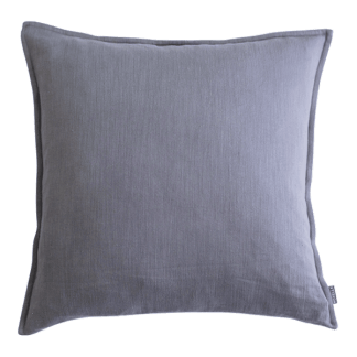 Washed Cotton Cushion Cover – Cool Grey