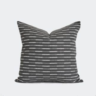 TOBIAS | Pewter Grey | Cushion Cover