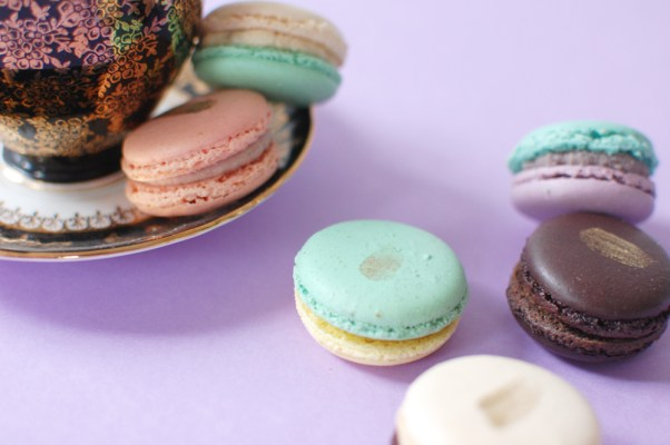 Sloane Tea recently launched its macaron collection