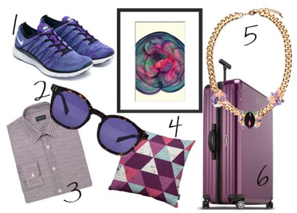 Purple Mood-board