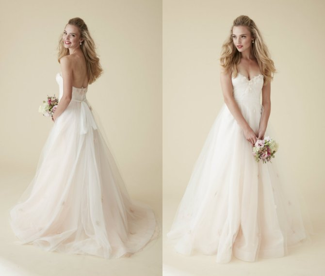 "The ""Provence"" gown from Belter's newer line, Astrid and Mercedes (Clair de Lune Collection)"