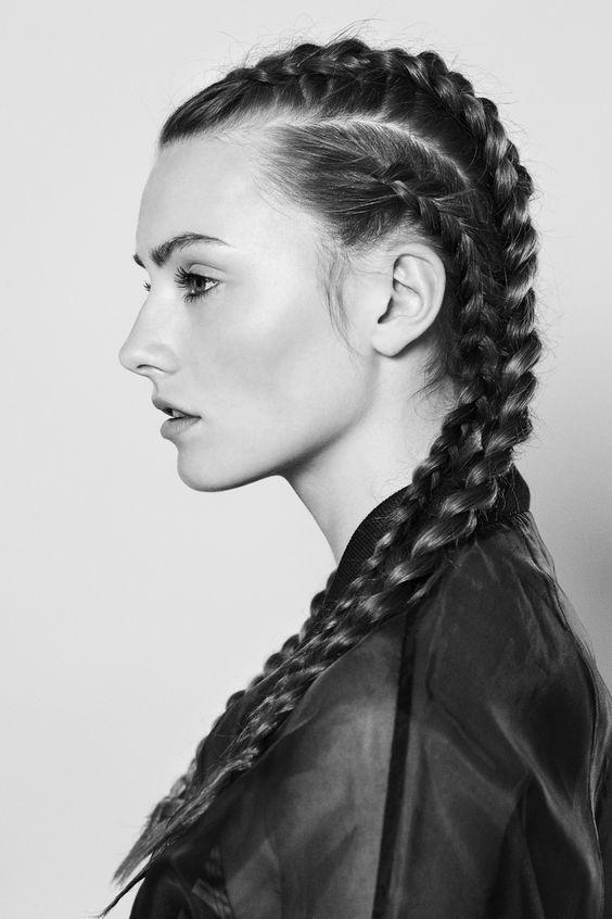 Admirable French Braid Novella Short Hairstyles Gunalazisus
