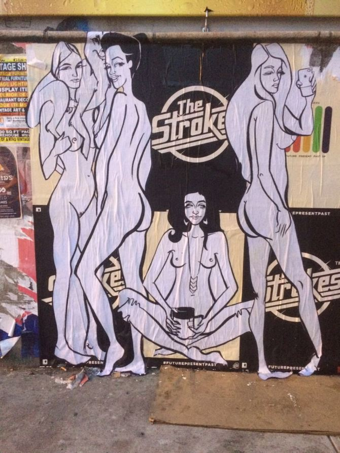 Baily's Naked Ladies in Brooklyn.