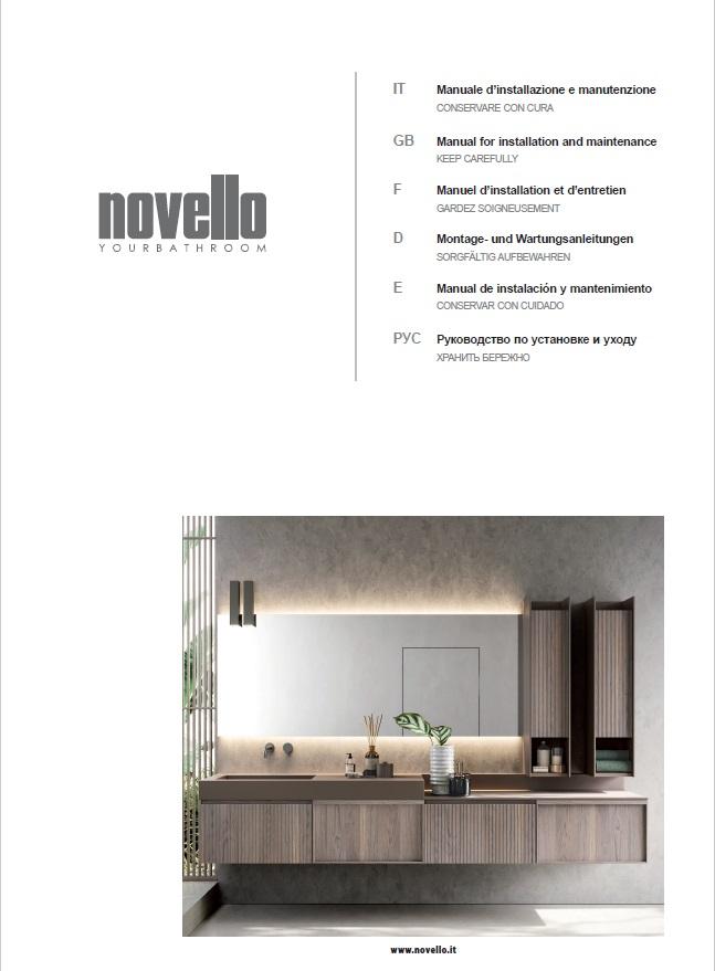 Cataloghi Novello  Arredo bagno dal 1956