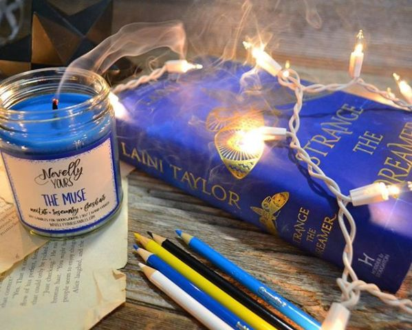 The Muse soy candle