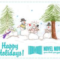 Happy Holidays from Everyone at Novel Novice