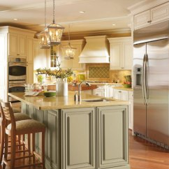 Yellow Pine Kitchen Cabinets Narrow Cabinet Omega Dynasty V.s. Kraftsmaid | Novel Remodeling
