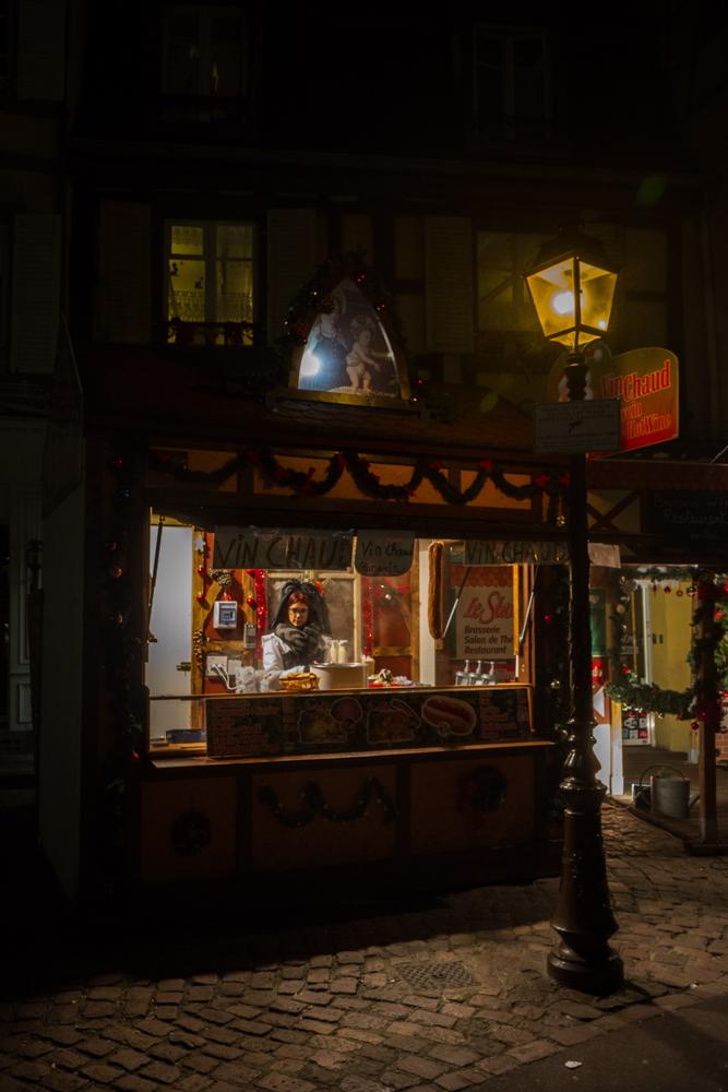 Hot Wine Vendor, Strasbourg, France