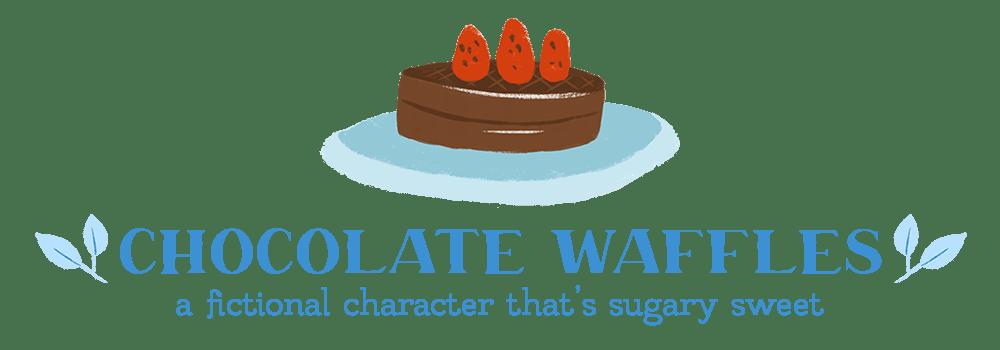 waffle book tag chocolate waffles