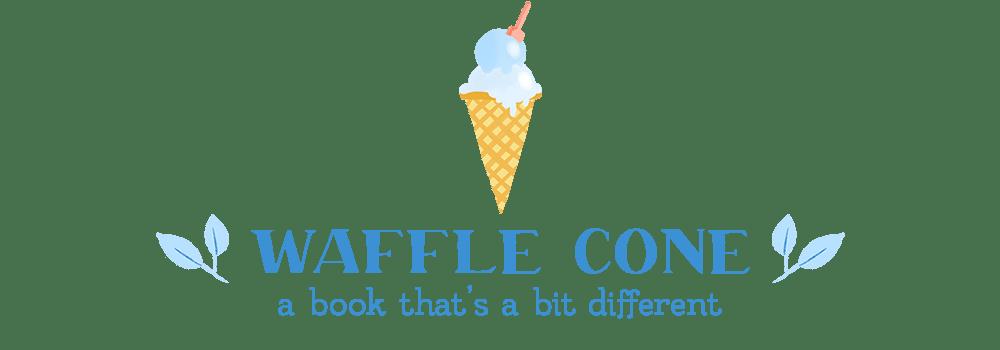 waffle book tag waffle cone