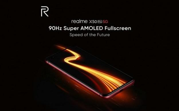 Realme X50 Pro will have 90 Hz Super AMOLED screen