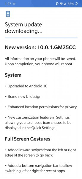 Sprint rolls out Android 10 for OnePlus 7 Pro 5G