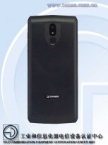 Gionee phone with 10,000 mAh battery (photos by TENAA)