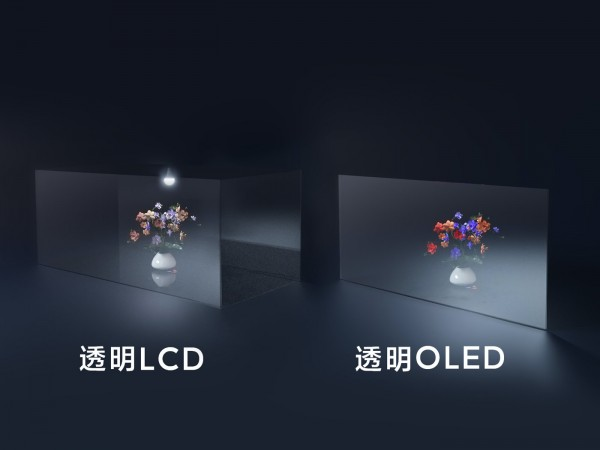 Xiaomi reveals the secret behind its transparent TV - there are holes in the matrix