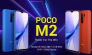 Poco M2 arrives with Helio G80, 6.53