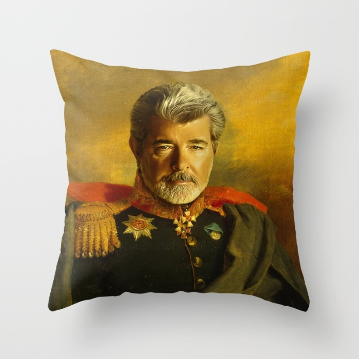 George Lucas Throw Pillow