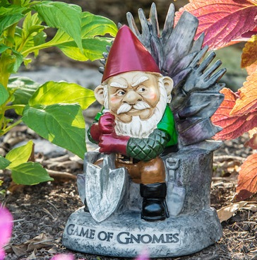 'Game of Gnomes' Garden Gnome