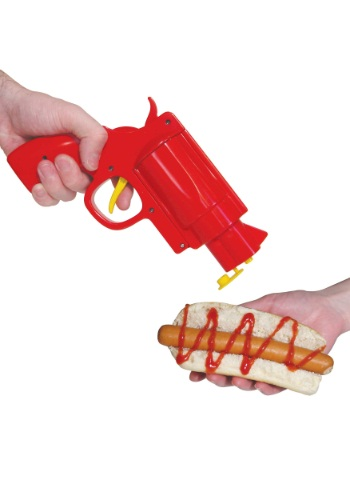 Gun Condiment Dispenser