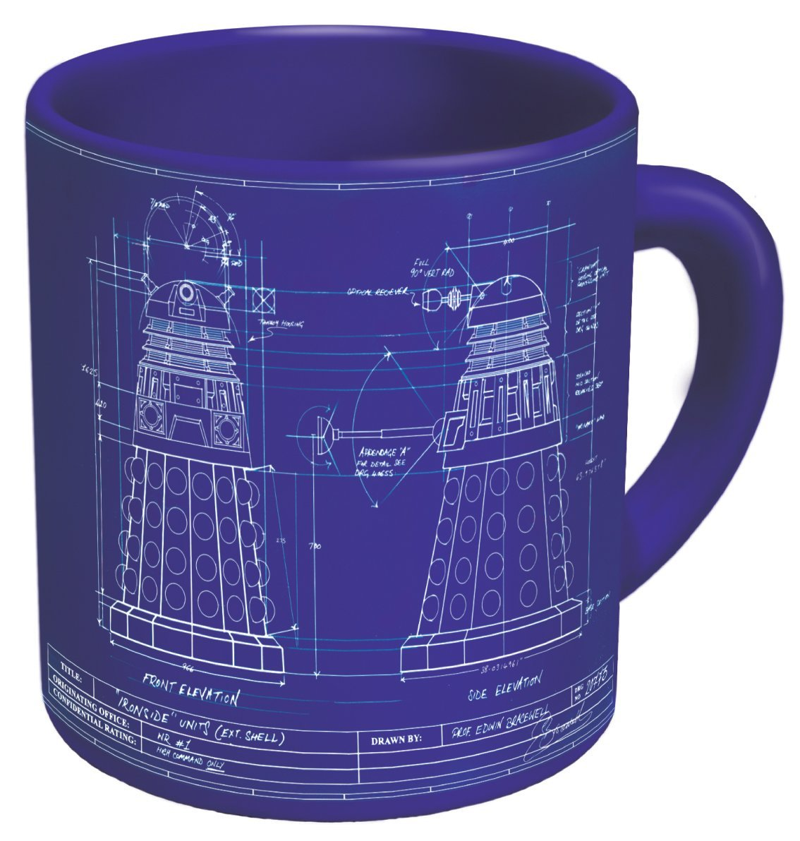 Genesis of the Daleks Coffee Mug