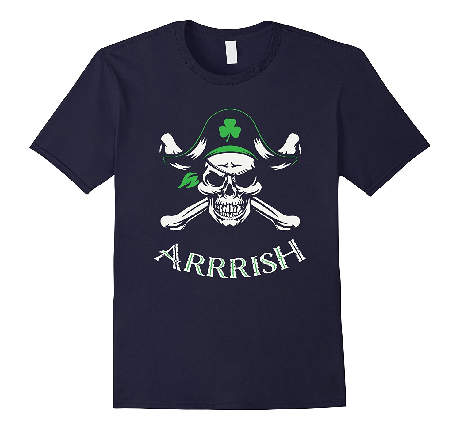 Arrish Irish Pirate St Patricks Day Shirt