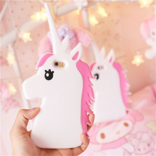 3D Unicorn iPhone Case