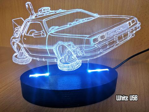 Delorean Acrylic Light