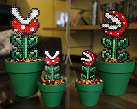 Super Mario Bros. Potted Piranha Plant