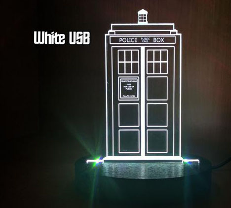 Tardis Acrylic Light