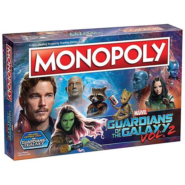 Guardians of the Galaxy 2 Monopoly