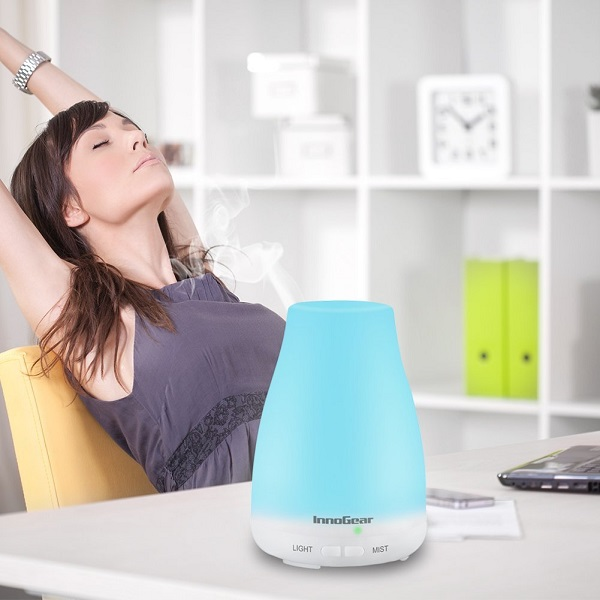 Color Changing LED Aroma Diffuser