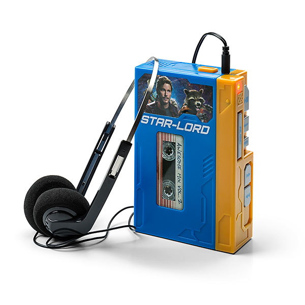 Star Lord's Walkman with Headphones