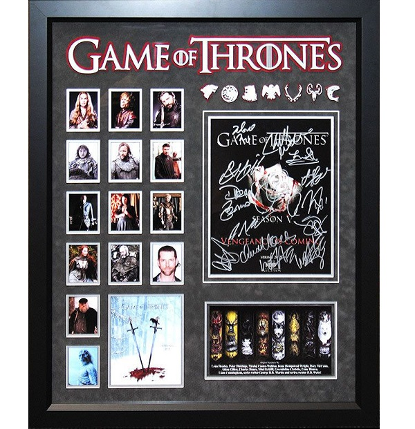 Game of Thrones – Cast Signed 11×14 Collage