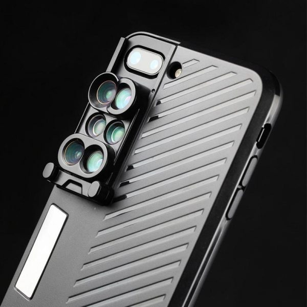 6-in-1 Camera Lens iPhone Case