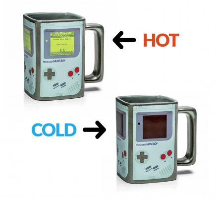 Heat Changing Game Boy Coffee Mug