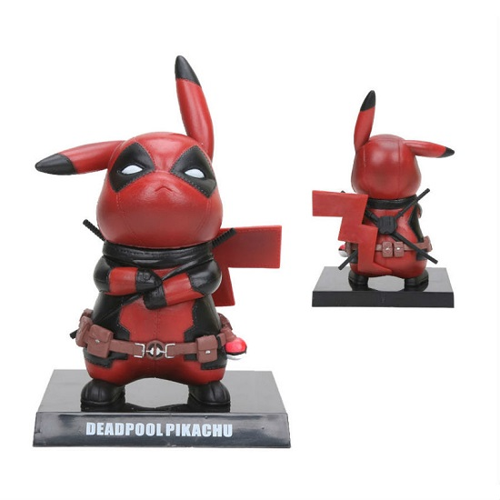 Deadpool Pikachu 'Pikapool' Figure