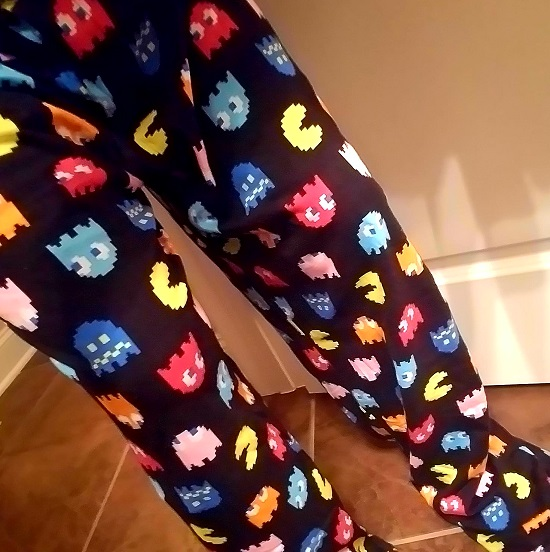 Pac-Man Byte Me Sleep Pants