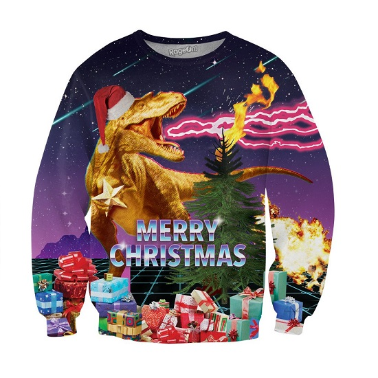 Santasaurus Sweatshirt