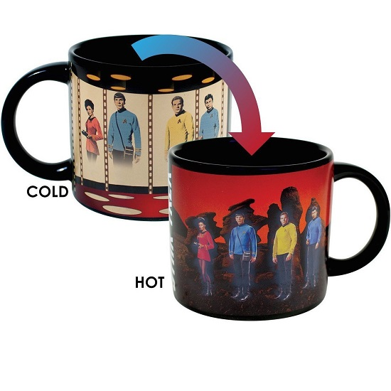 Star Trek Heat Changing Mug