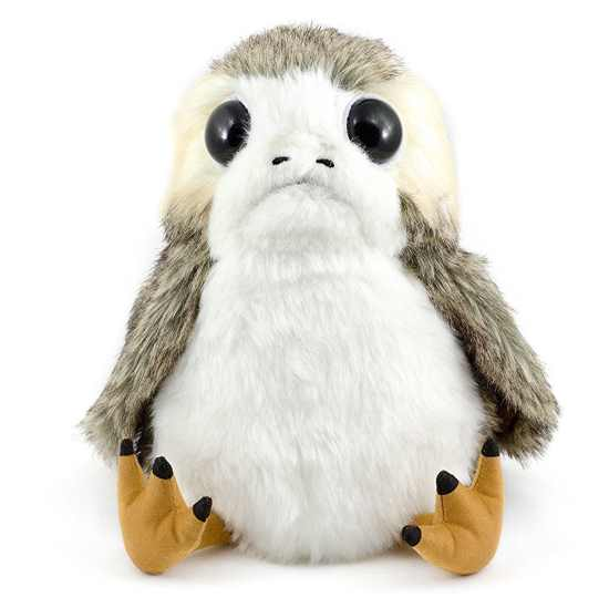 Interactive Action Porg Plush