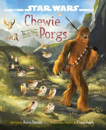 Chewie and the Porgs Book