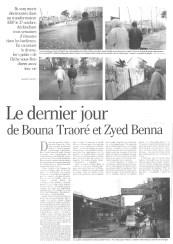 07.12.2005 - Le dernier jour de Zyed et Bouna (incomplet, la suite sur le site du Monde)