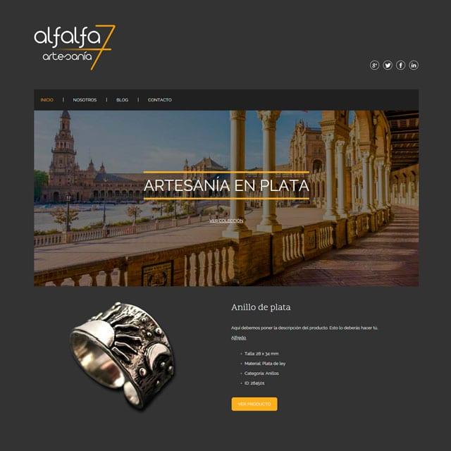 alfalfa 7 noventa.es diseño web